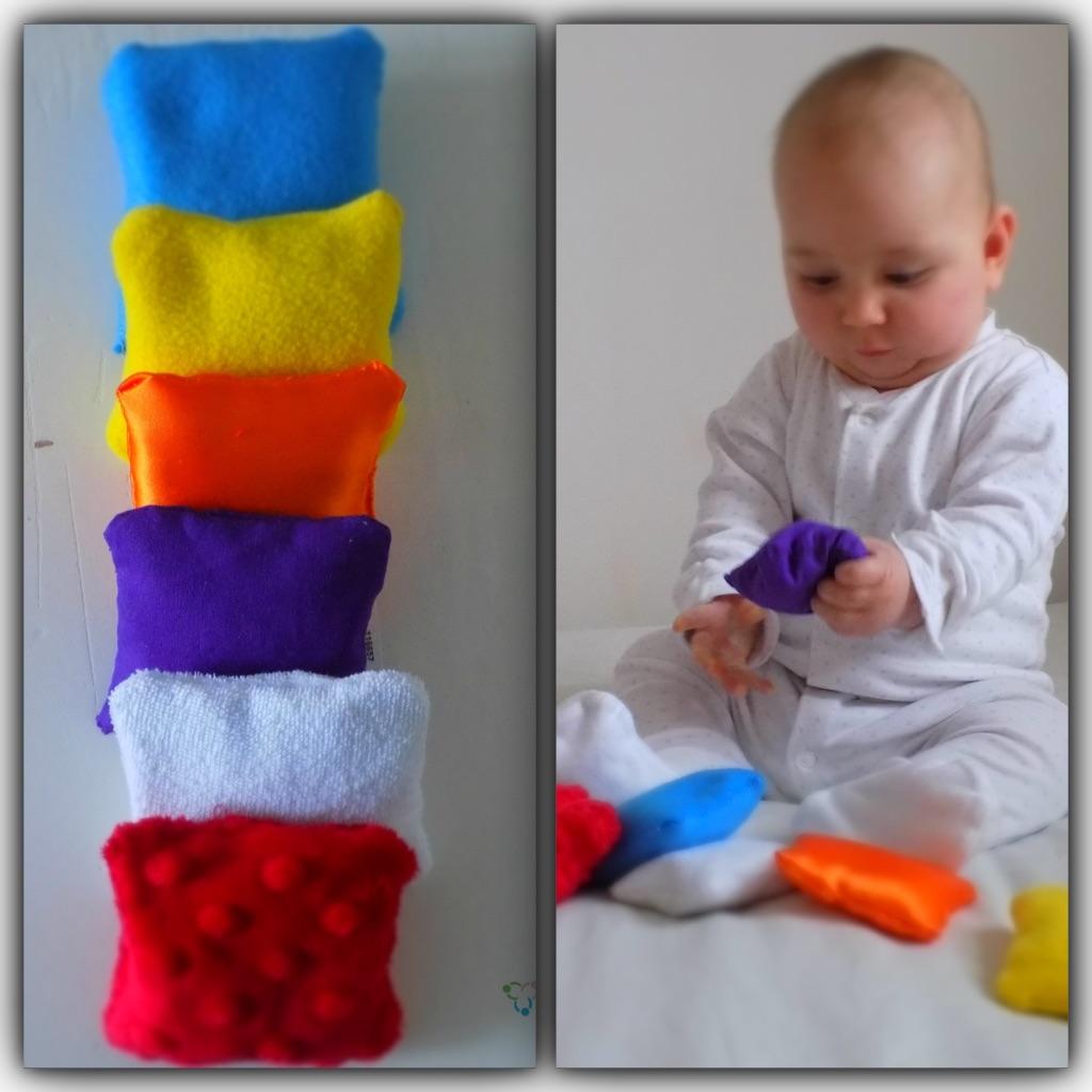 Sensory Bean Bags Montessori Inspired Baby Toy My